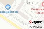 Схема проезда до компании Патио Кухни в Москве