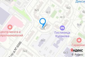 Однокомнатная квартира в Москве ул. Саморы Машела, 4к4