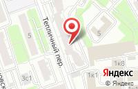 Схема проезда до компании Дс Медиа в Москве