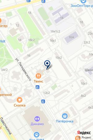 ЖСК ИЗОБРАЗИТЕЛЬНОЕ ИСКУССТВО на карте Москвы