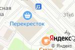 Схема проезда до компании Ваша Ферма в Москве