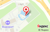Схема проезда до компании Фаворит в Подольске