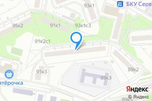 Снять однокомнатную квартиру в Москве пр-т Вернадского, 91к2