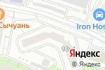 Схема проезда до компании Фб-сервис в Москве