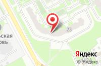 Схема проезда до компании Сласти от Насти в Подольске