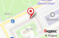 Схема проезда до компании Принт Бюро Отк в Москве