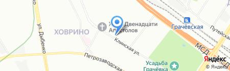 Травт на карте Москвы