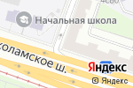 Схема проезда до компании Адвокат Сидорова О.В. в Москве