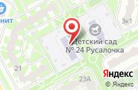 Схема проезда до компании Детский сад №23 в Подольске