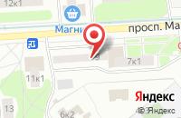 Схема проезда до компании Эй Пи Эс Принтсервис в Москве