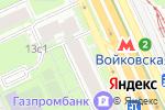Схема проезда до компании Трудяга в Москве