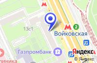 Схема проезда до компании МАГАЗИН ДВЕРЕЙ СЕЗАМ в Москве