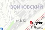 Схема проезда до компании СЭС в Москве