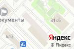 Схема проезда до компании В Раменках в Москве