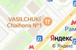Схема проезда до компании Магазин мясной и молочной продукции в Москве