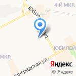 Средняя общеобразовательная школа №25 на карте Подольска