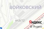 Схема проезда до компании СЭС Москва в Москве