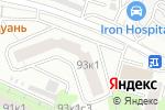Схема проезда до компании Энергосервис в Москве