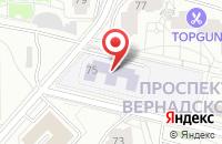 Схема проезда до компании Глобал Медиа в Москве