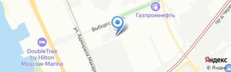 Кросс-Контакт на карте Москвы