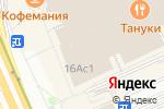 Схема проезда до компании Boft в Москве