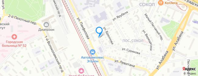 улица Кипренского