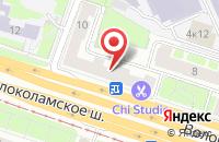 Схема проезда до компании Финпрофмедиа в Москве