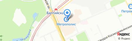 Adidas на карте Москвы