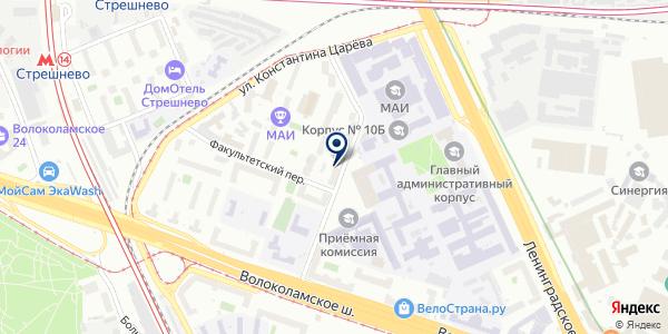 Региональное Производственное Объединение на карте Москве
