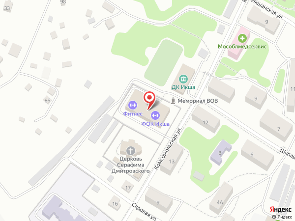 Yandex Карта