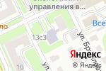 Схема проезда до компании Библиотека №60 им. В.В. Иванова в Москве