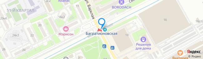 метро Багратионовская