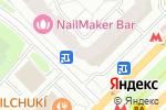 Схема проезда до компании Bloomdecor в Москве