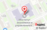 Схема проезда до компании Копирина СиЭсПи в Москве