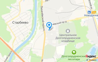 Местоположение на карте пункта техосмотра по адресу Московская обл, г Долгопрудный, проезд Транспортный, д 3