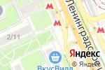 Схема проезда до компании Магазин ивановского текстиля в Москве