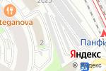 Схема проезда до компании Margo architecture&ampdesign в Москве