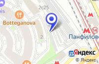 Схема проезда до компании ПРЕДСТАВИТЕЛЬСТВО В РОССИИ АВИАКОМПАНИЯ ГУЛИСТАН-АЭРО в Москве