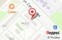 Схема проезда до компании Весть в Москве