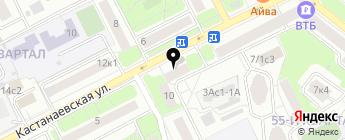 Колибри Авто на карте Москвы
