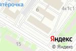 Схема проезда до компании Компания Каскад в Москве