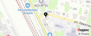 RaceChip на карте Москвы
