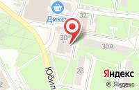 Схема проезда до компании Турист в Подольске