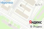 Схема проезда до компании Panoger в Москве