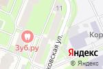 Схема проезда до компании Швейное Королевство в Москве