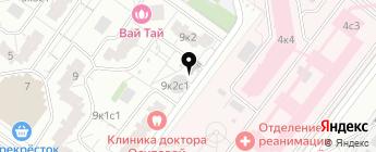 Обручево-43 на карте Москвы
