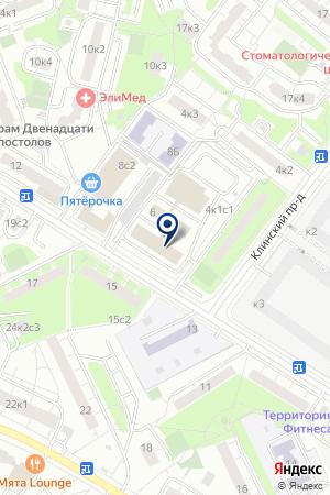 ТФ МЕДАФАРМ СИТИ на карте Клина
