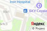 Схема проезда до компании Proflin в Москве