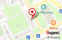 Схема проезда до компании Техноальянс-М в Москве