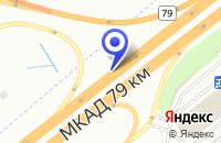 Схема проезда до компании ПРОИЗВОДСТВЕННАЯ ФИРМА СЭМРИС в Долгопрудном